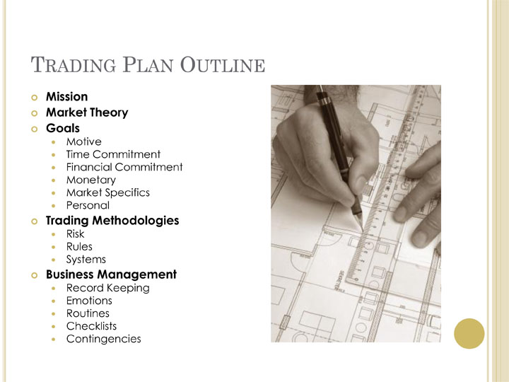 Options trading plan sample