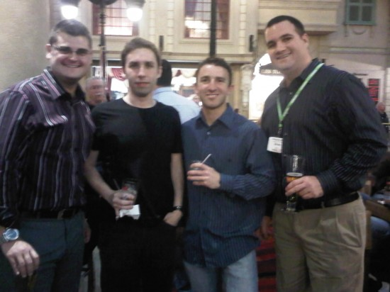 Chris Dunn, Corey Rosenbloom, Tim Racette, Chris Henry