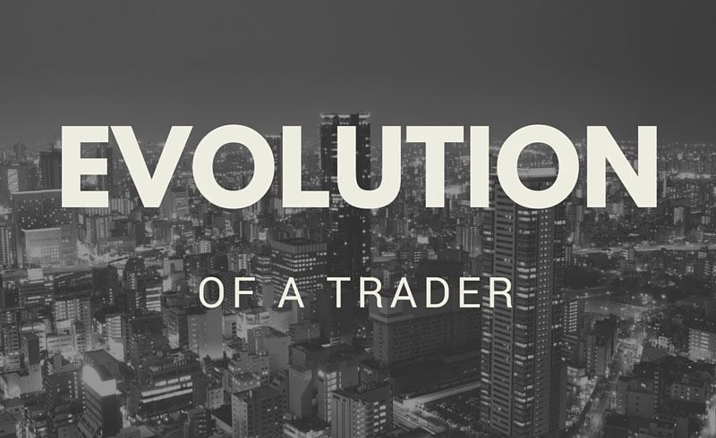 Evolution of a Trader
